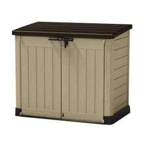 Click here to buy Keter 4.75 ft. x 2.6 ft. x 4 ft. Store-It-Out Max Shed by Keter.