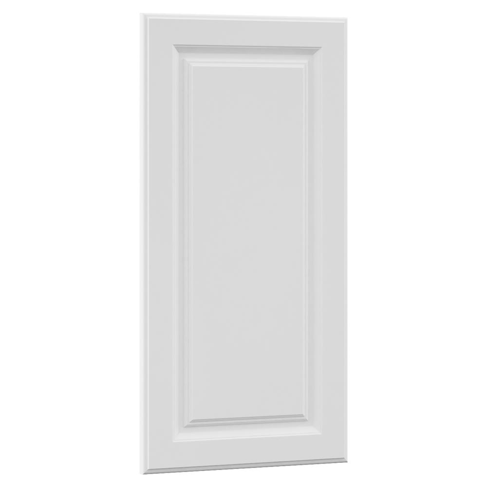 15x29.375x0.625 in. Hampton Decorative End Panel in Satin White