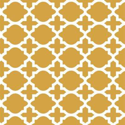 Meknes Four Pattern Repeat Wall Painting Stencil