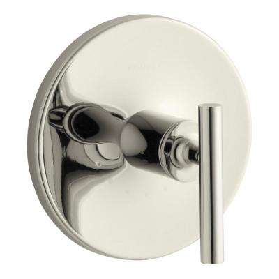 Purist 1-Handle Thermostatic Valve Trim Kit in Vibrant Polished Nickel (Valve Not Included)