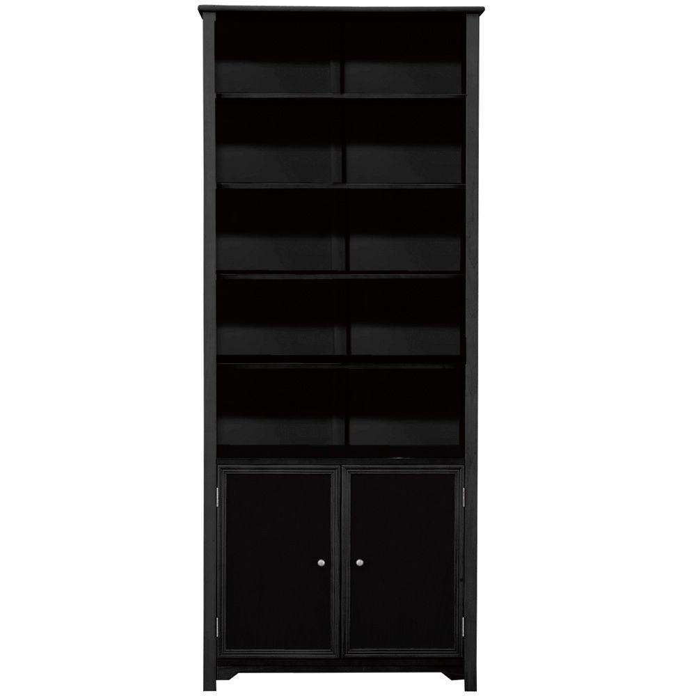 home decorators collection oxford black storage open