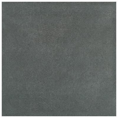 Twenties Black 7-3/4 in. x 7-3/4 in. Ceramic F/W Tile