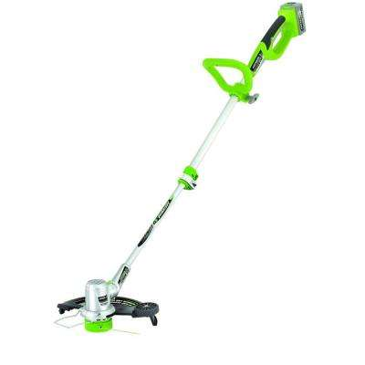 11 in. - 13 in. 24-Volt Lithium-Ion Electric Cordless String Trimmer