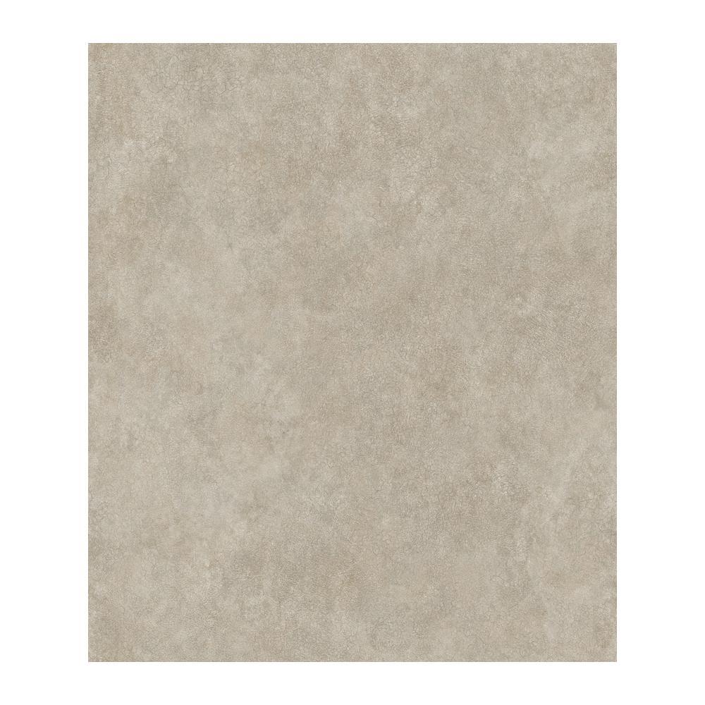 Julian Grey Faux Leather Wallpaper Sample