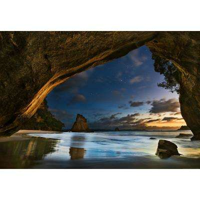 Cathedral Cove In New Zealand Wall Mural