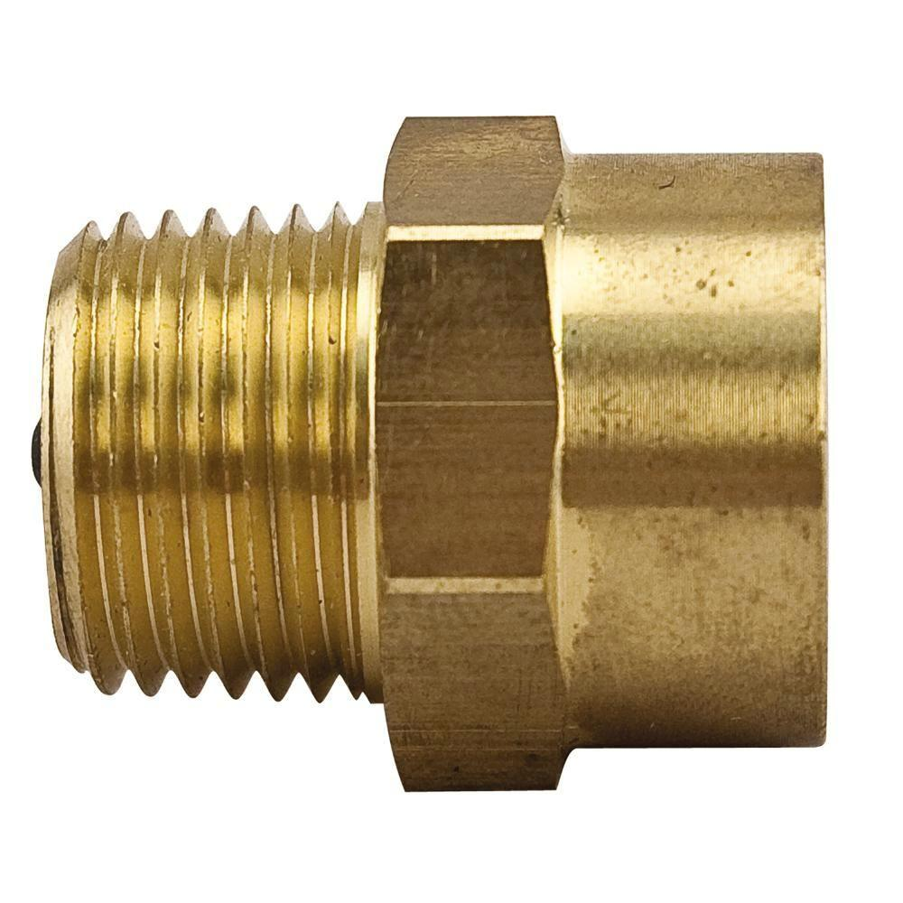 watts 1 8 in brass fpt x mpt service check valve 1 8 scv the home depot. Black Bedroom Furniture Sets. Home Design Ideas