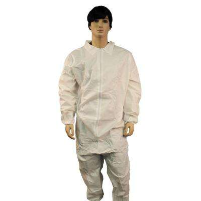 Coverall Zipper Front Elastic Wrist and Ankles-25/CS