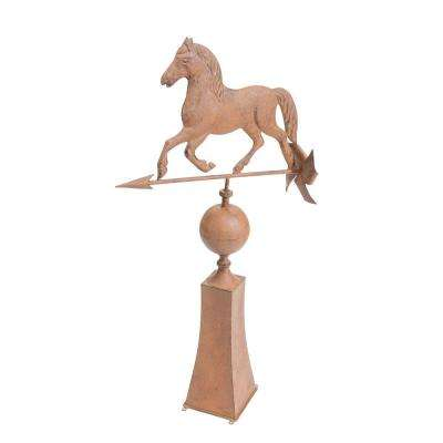 Vintage Horse Weather Vein Garden Statue