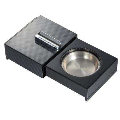 Loki Sliding Ashtray with Removable Ashtray and Compartments