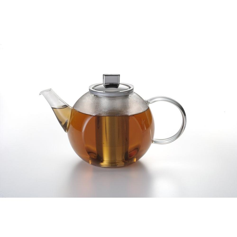BonJour 35 oz. Harmony Glass Teapot with Shut-Off Infuser-DISCONTINUED