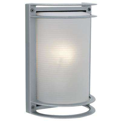 Nevis Medium 1-Light Satin LED Outdoor Wall Mount Sconce
