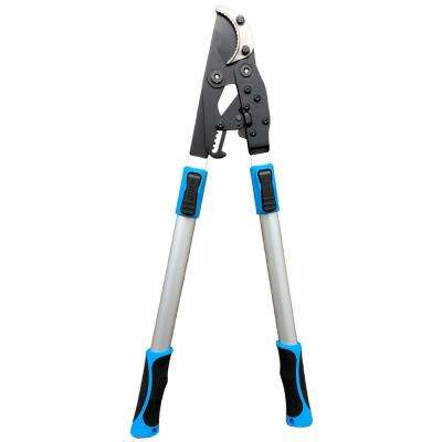 28 in. to 40 in. Deep Hook Telescoping Ratchet Lopper