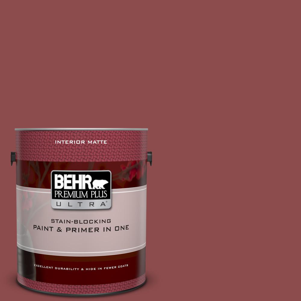 S140 6 Moroccan Ruby Matte Interior Paint