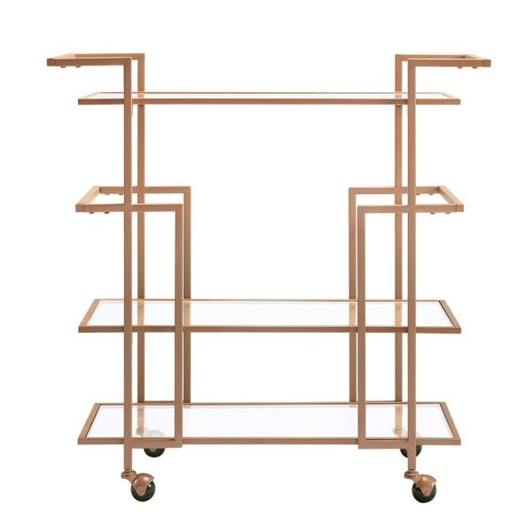 Southern Enterprises Della Art Deco Bar Cart HD523934