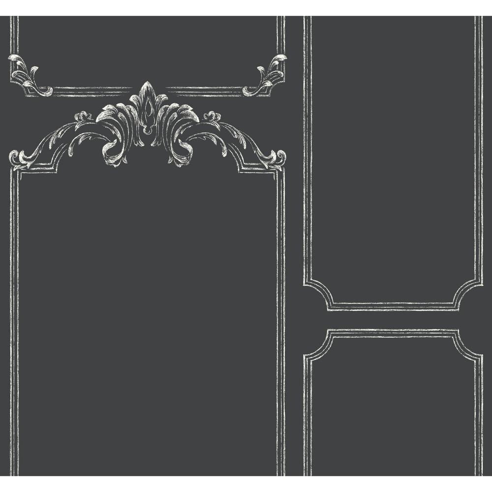 Magnolia Home By Joanna Gaines Chalkboard Removable Wallpaper MH1532