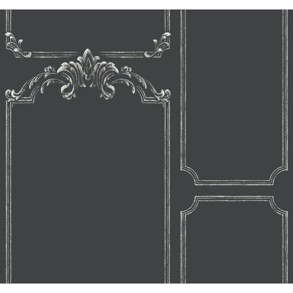Magnolia Home by Joanna Gaines Magnolia Home Chalkboard Removable Wallpaper