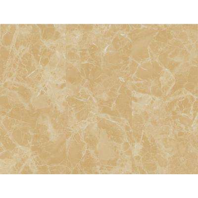Double Roll Venetian Beige Marble Peel and Stick 3D Effect Self Adhesive DIY Wallpaper (covers 64,62 sq. ft.)