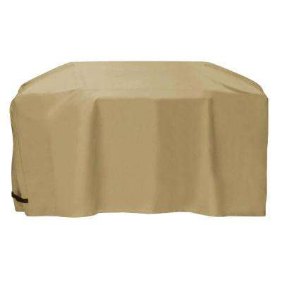 88 in. Cart Style Grill Cover in Khaki