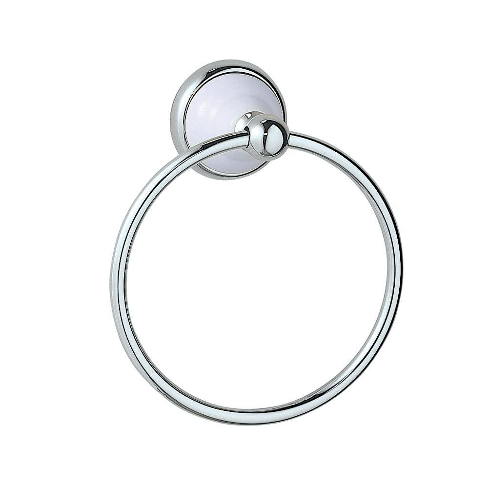 Gatco Franciscan Towel Ring in Chrome