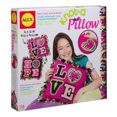 Craft Giant Knot and Stitch Pillow