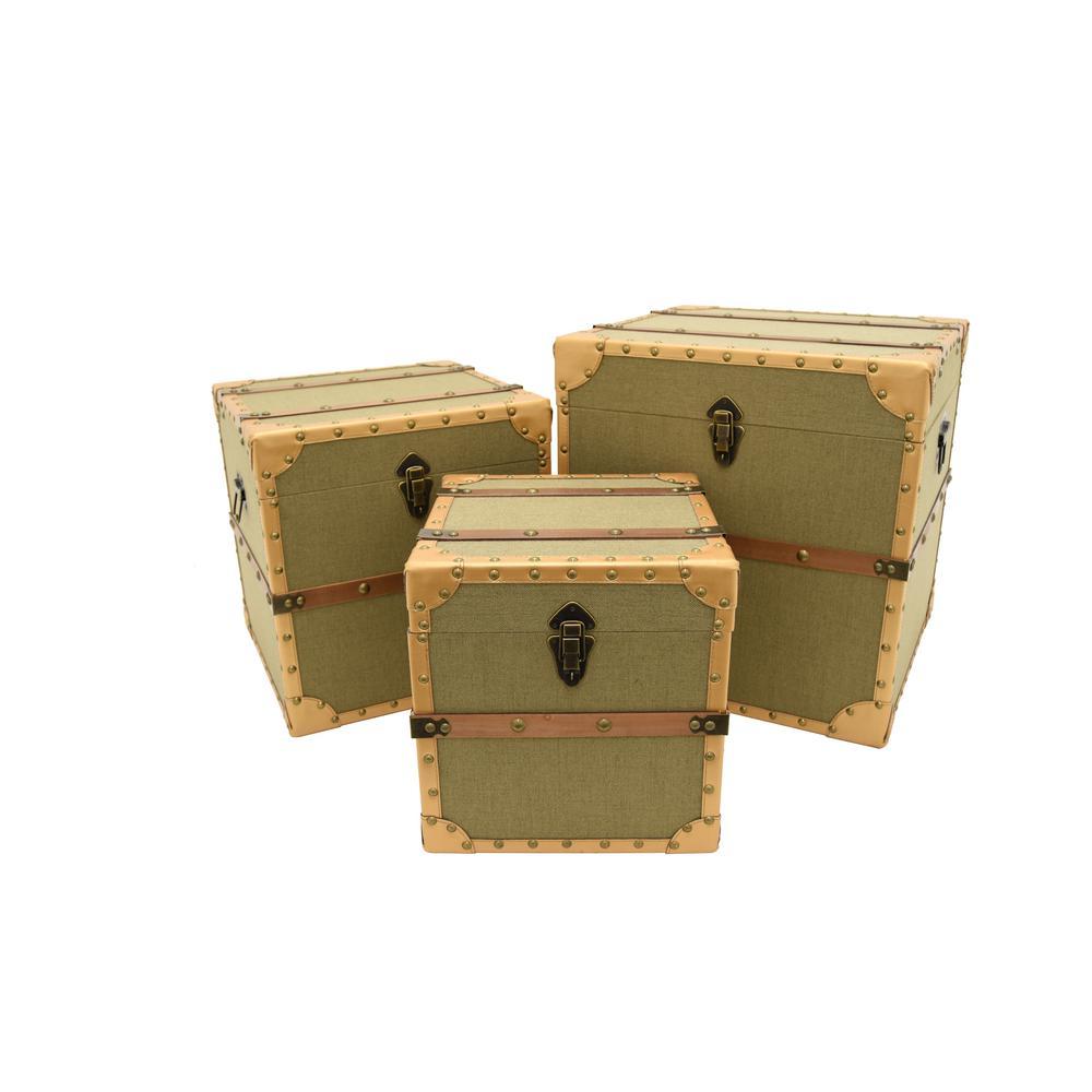 Storage Trunk (Set of 3)