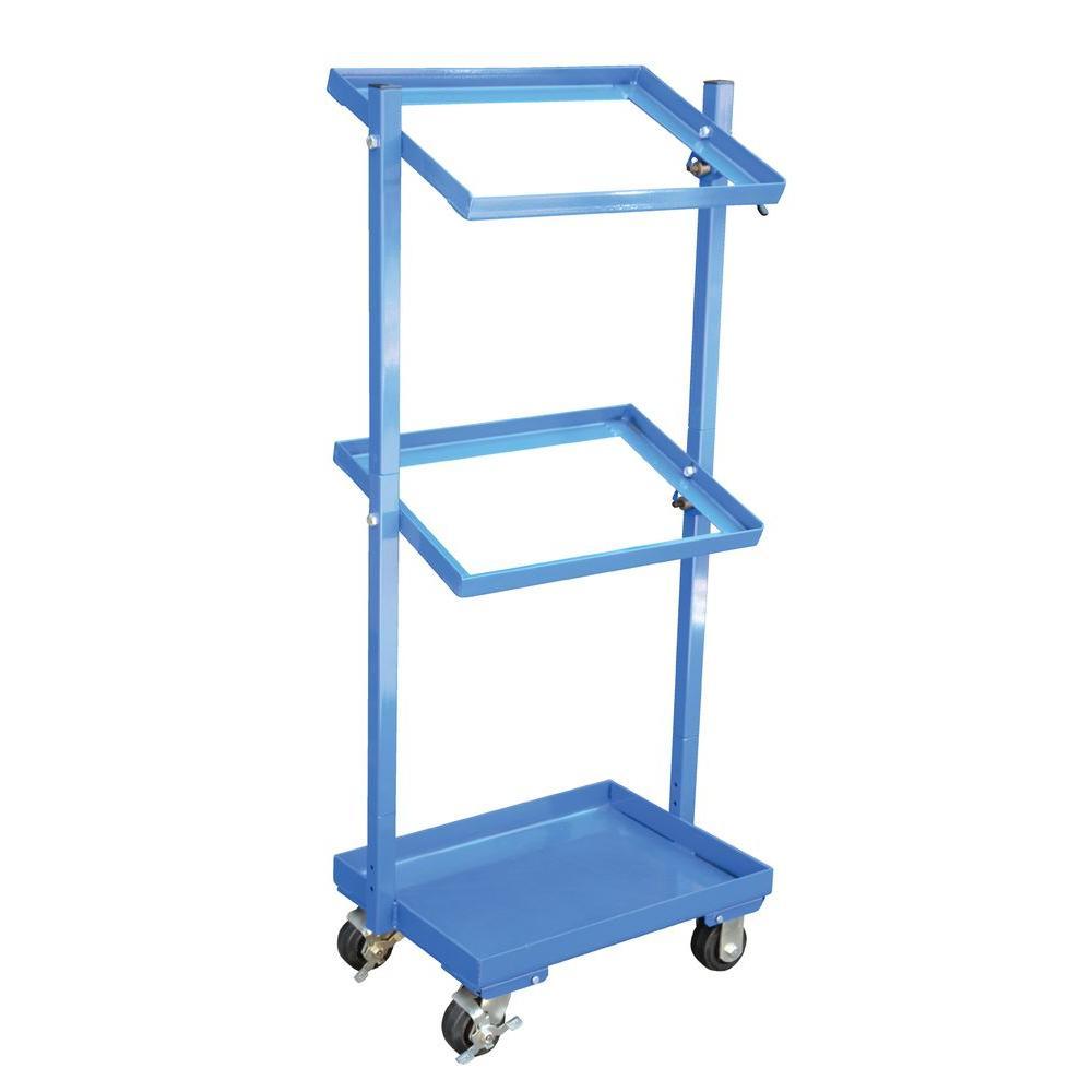 200 lb. Capacity 3 Shelf Multi-Tier Cart