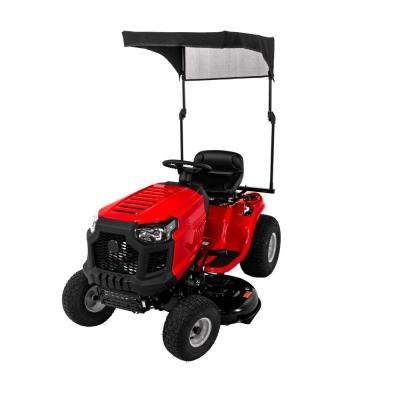 Collapsible Sun Shade for Riding Mowers 2010 and After
