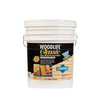 5 gal. Classic Clear Above Ground Wood Preservative