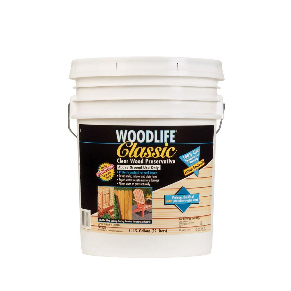 Clear Wood Preservative - Wood Sealers - Exterior Stain ...
