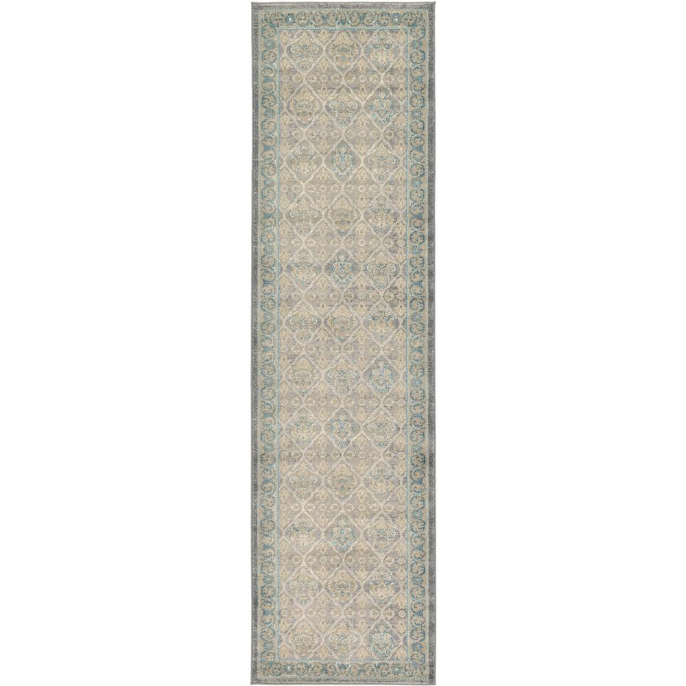 Unique Loom Salzburg Gray 7 Ft X 1 Ft Rug Price Tracking