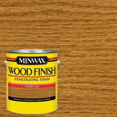 1 gal. Wood Finish Cherry Oil Based Interior Stain (2-Pack)