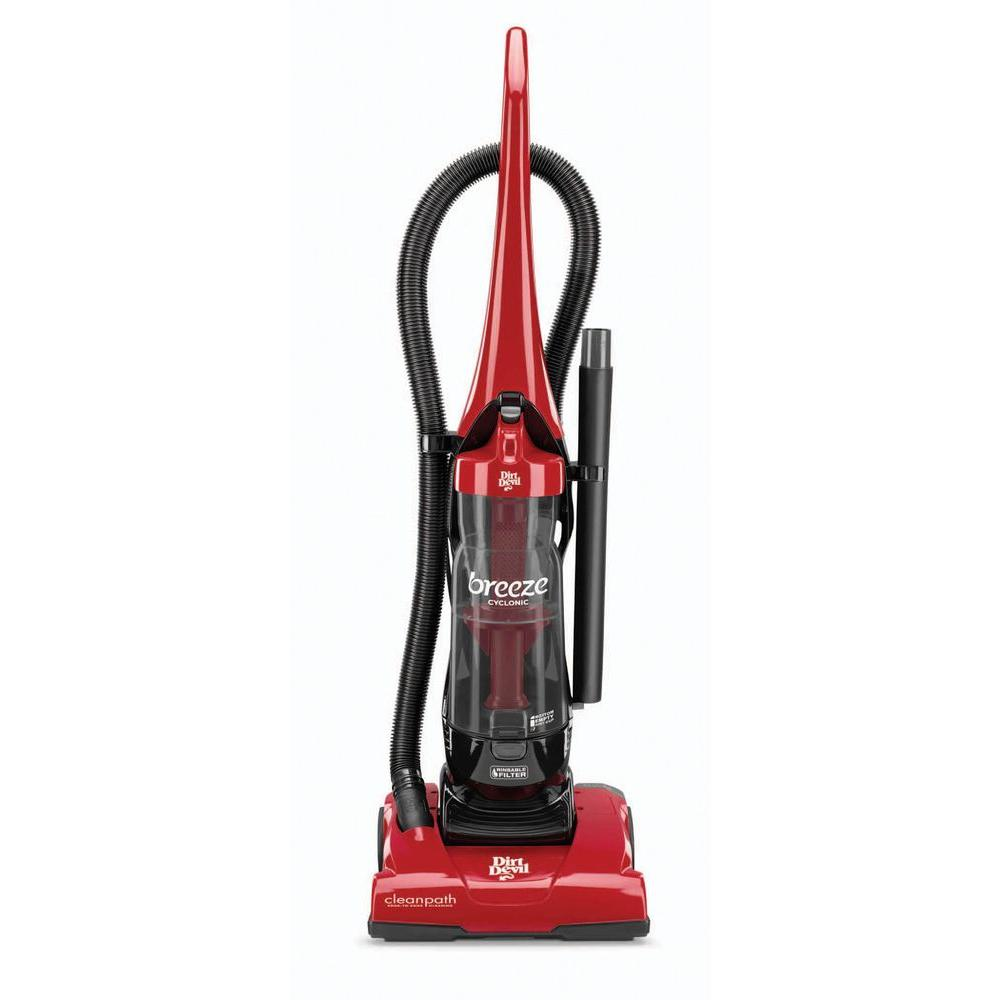 Dirt Devil Breeze Cyclonic Bagless Upright Vacuum Cleaner
