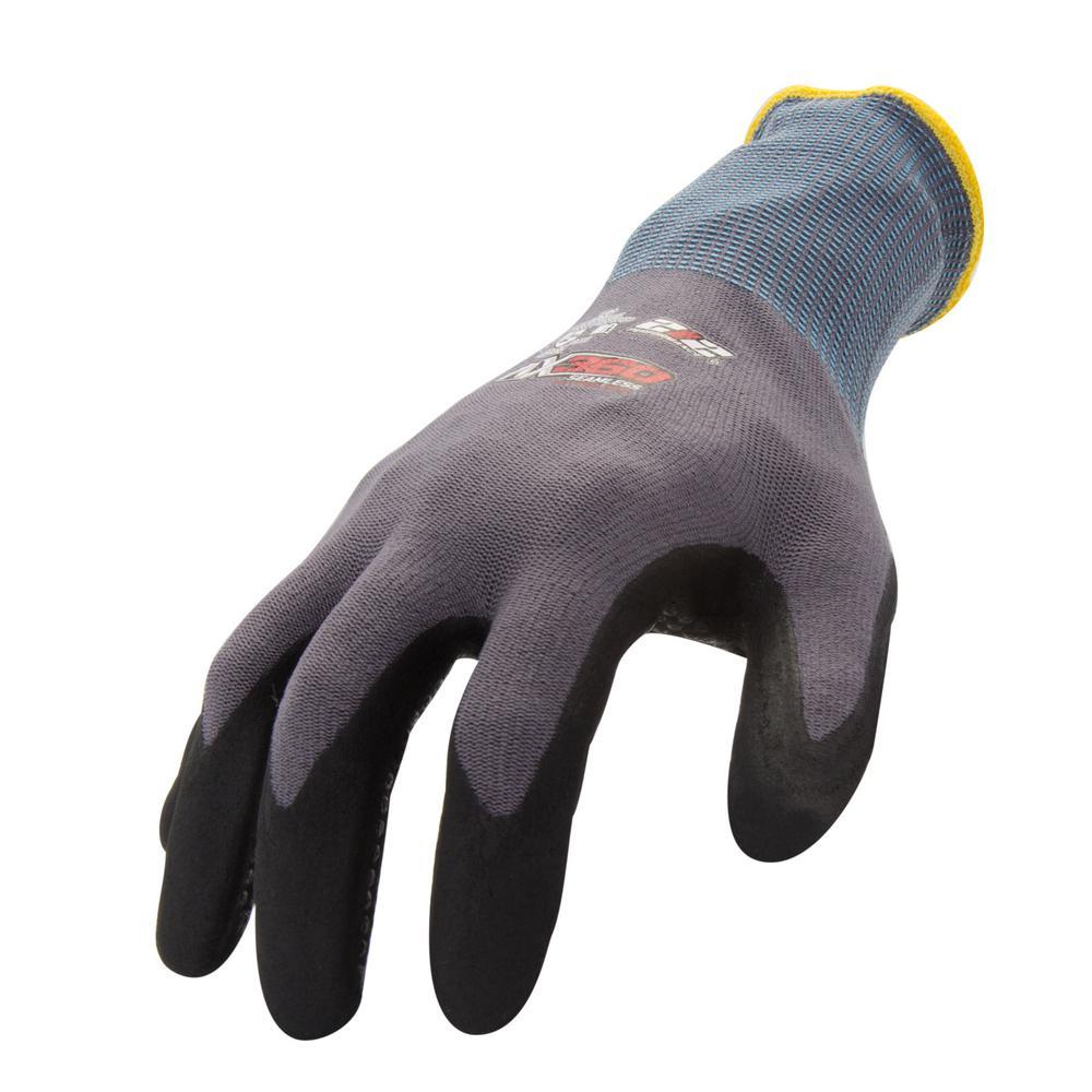 Medium Dotted Grip Nitrile-dipped Work Glove (12-Pair/Pack)