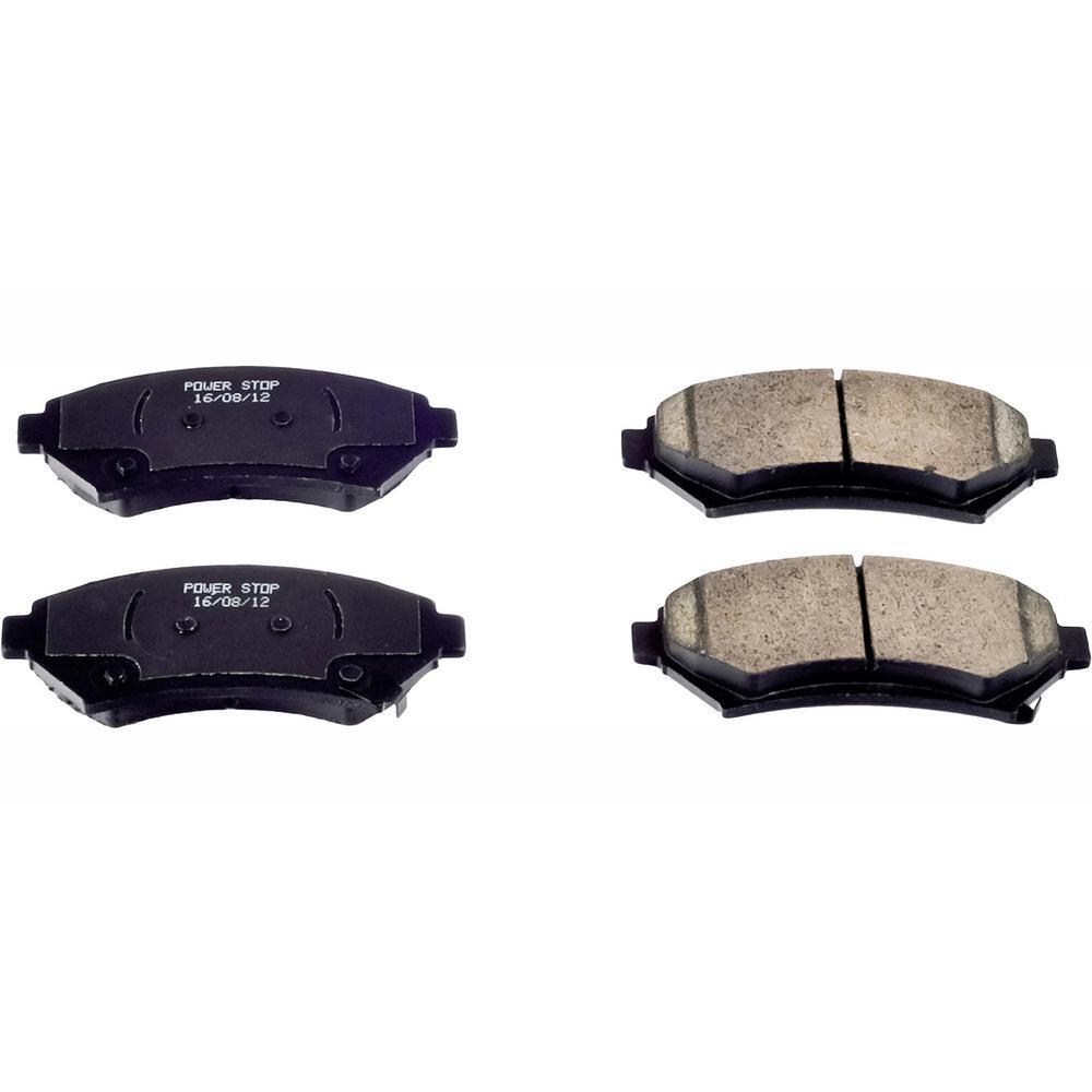 Disc Brake Pad Set-Evolution Ceramic Disc Brake Pad Front Power Stop 16-699