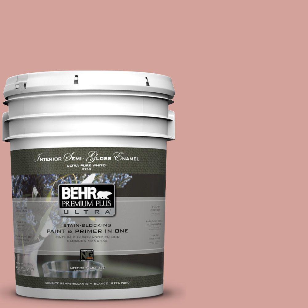 BEHR Premium Plus Ultra 5-gal. #S160-3 Bubble Shell Semi-Gloss Enamel Interior Paint