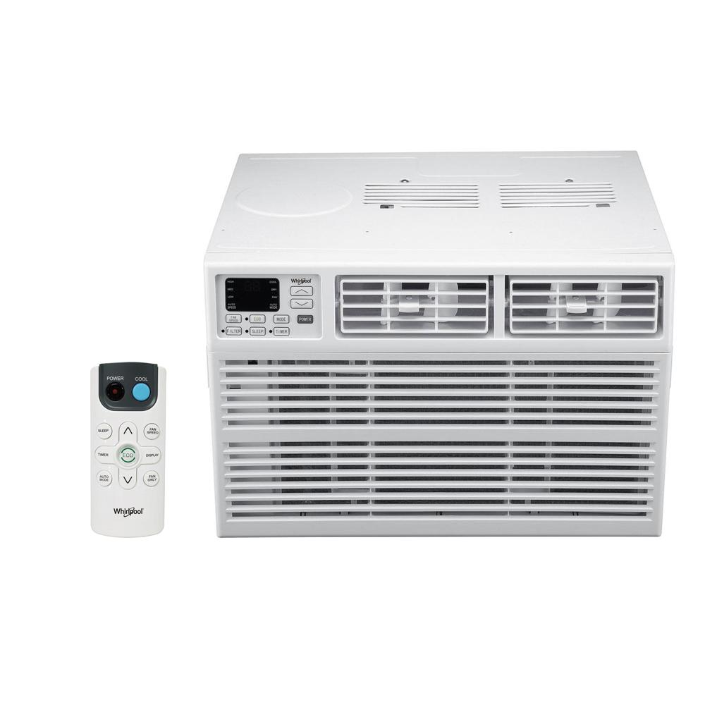 Whirlpool Energy Star 24,000 BTU 230-Volt Window Air Conditioner with Dehumidifier and Remote