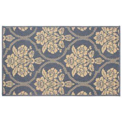 Tatton in Chain Navy 11 ft. x 8 ft. Indoor/Outdoor Area Rug