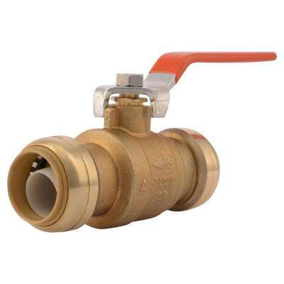 1 in. Brass Push-to-Connect Ball Valve