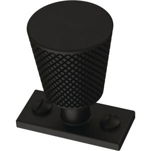 Averland 1-5/8 in. (42mm) Matte Black Cabinet Knob