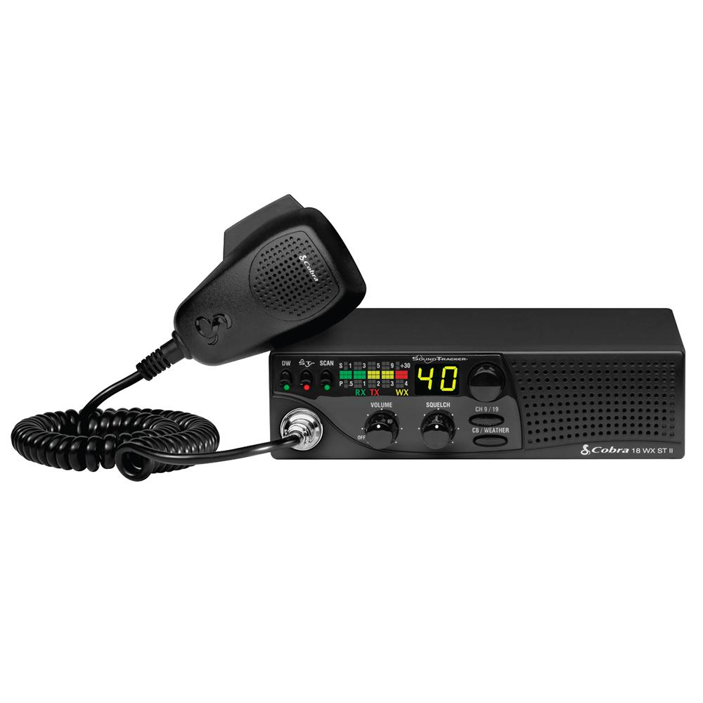 Cobra Compact CB Radio with Weather and Sound Tracker-18WXSTII - The ...