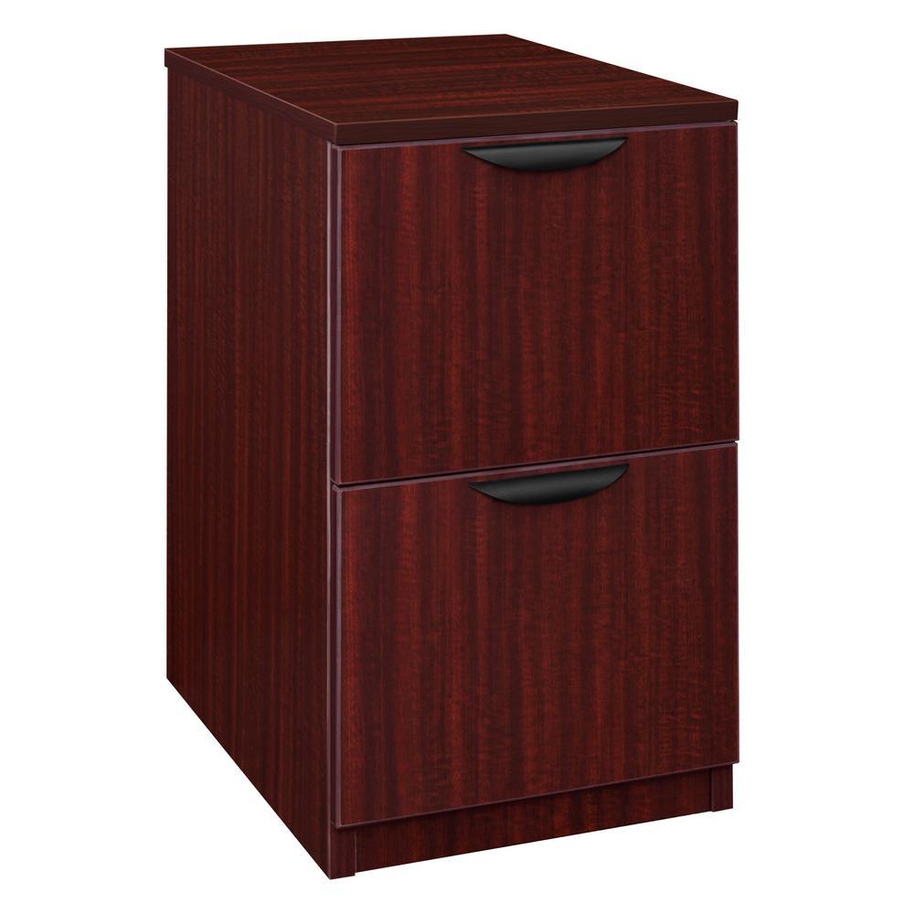 Legacy Mahogany Deskside 2 Drawer File Cabinet