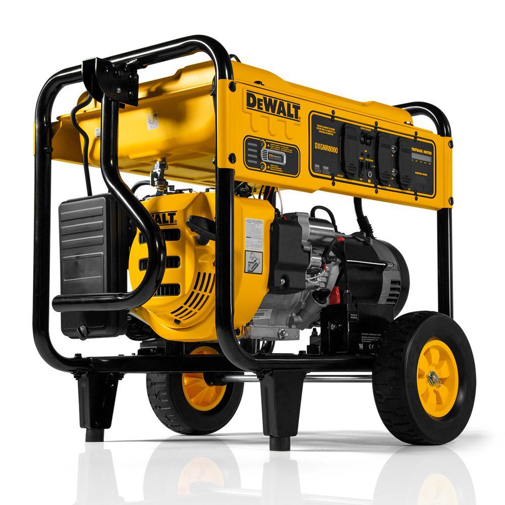8,000-Watt Gasoline Powered Portable Generator
