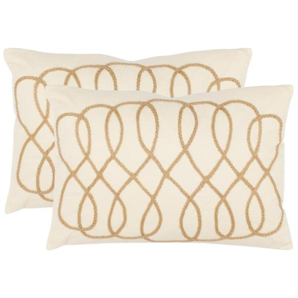 Safavieh Suzy Textures & Weaves Pillow (2-Pack)