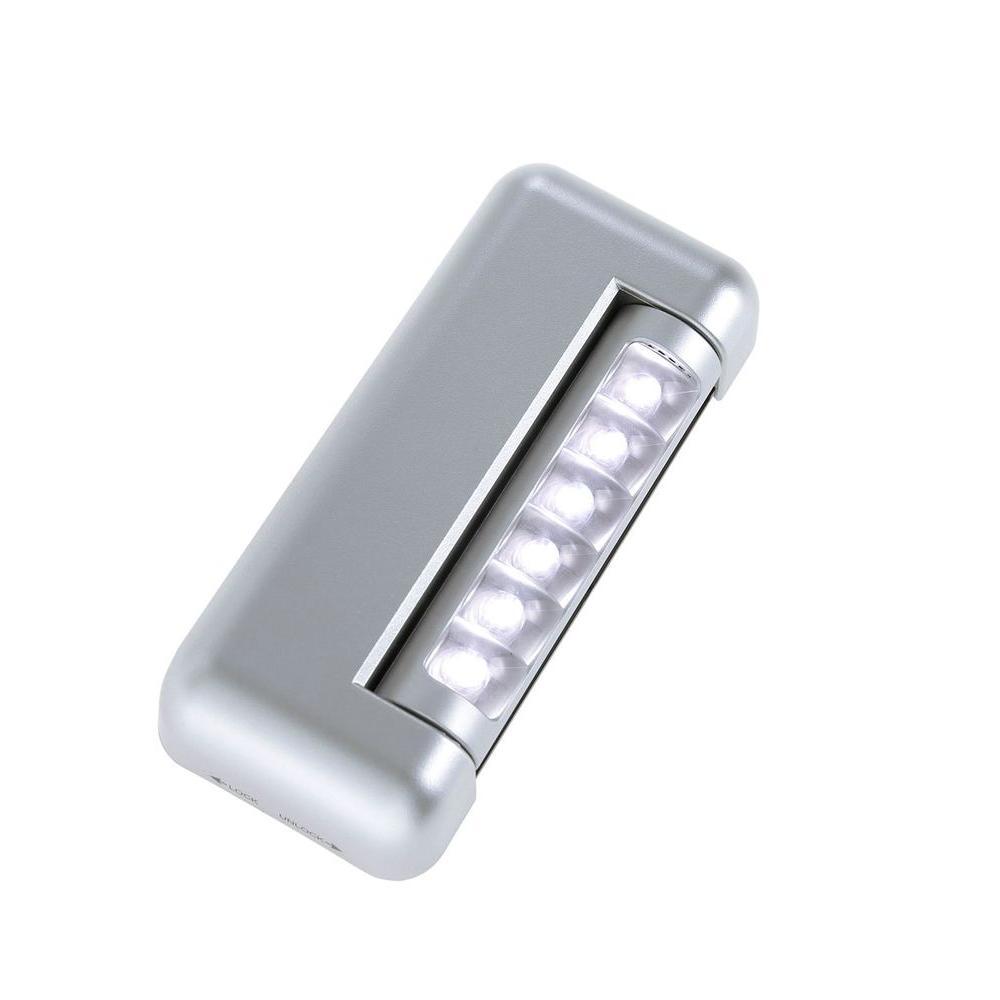 Light It! 6-LED Adjustable Silver Under Cabinet Light