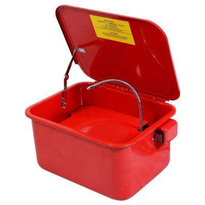 3.5 Gal. Automotive Parts Washer General Purpose Cleaner with Electric Water Pump 110-Volt