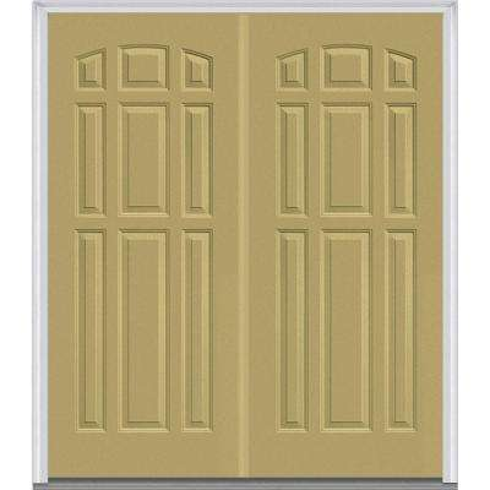 Double Door - Fiberglass Doors - Front Doors - The Home Depot