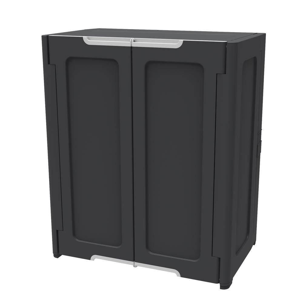 Hdx 36 In H X 30 In W X 19 In D Stackable Utility Base Wall