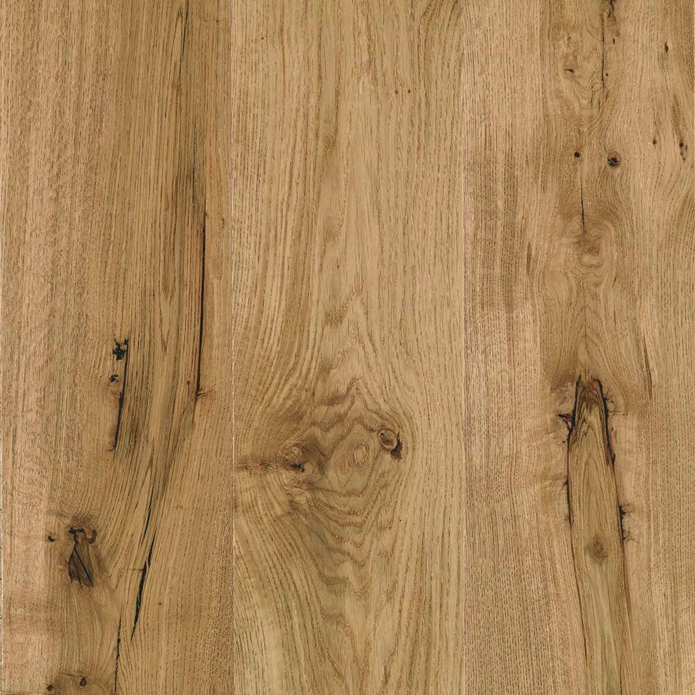 Mohawk elegant home drawbridge oak 9 16 in x 7 4 9 in for Hardwood floor 5 16 vs 3 4