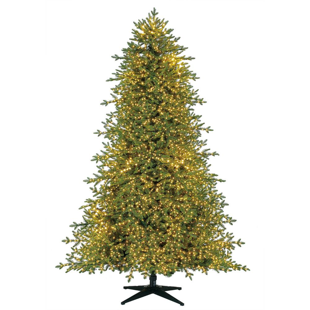 Home Decorators Collection 7.5 ft. Pre-Lit LED Majestic Brilliance Fir Artificial Christmas Tree