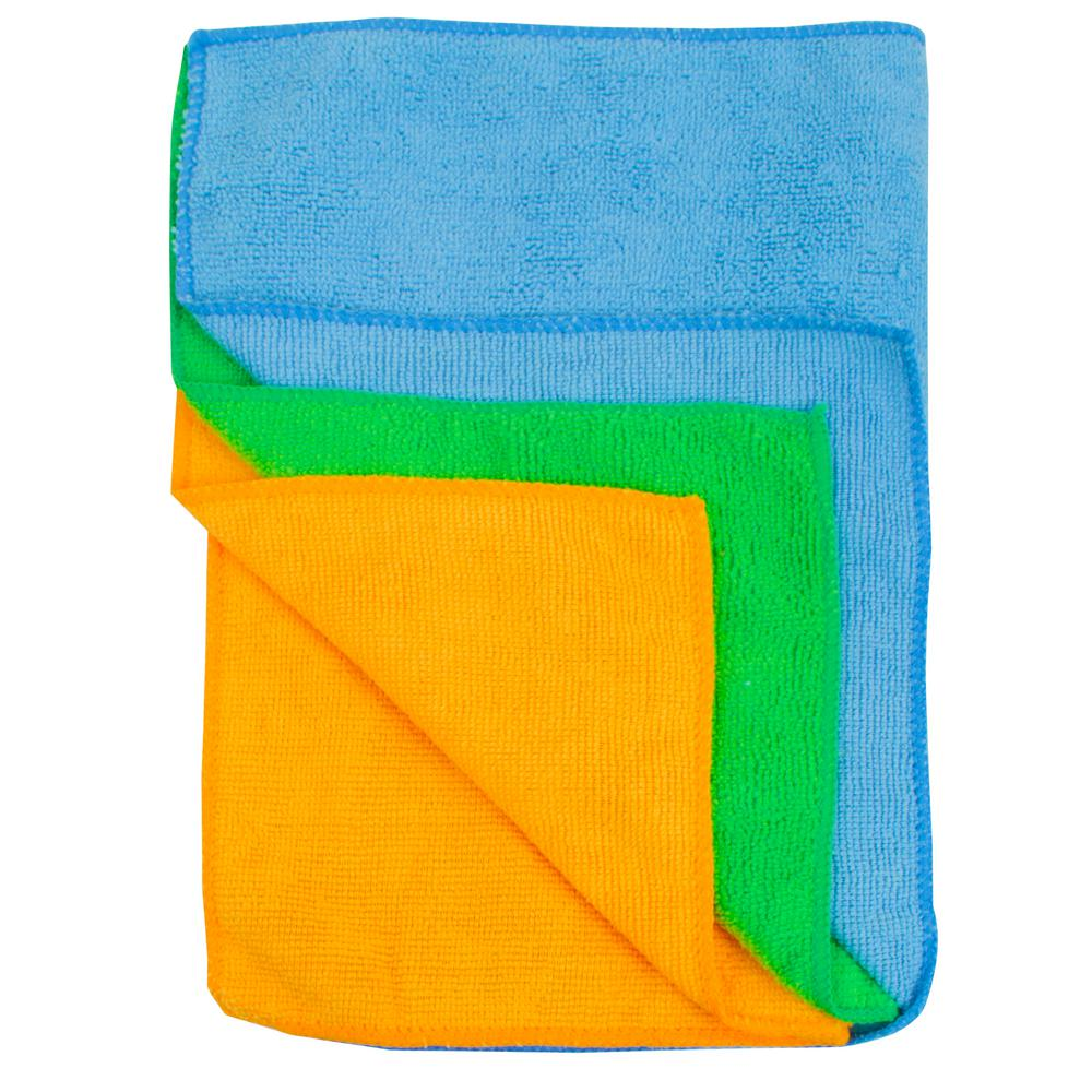 Microfiber All-Purpose Cleaning Towels (3-Pack)